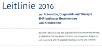 Medizin und ärztliche Praxis: EMF Leitlinie 2016 gedruckt